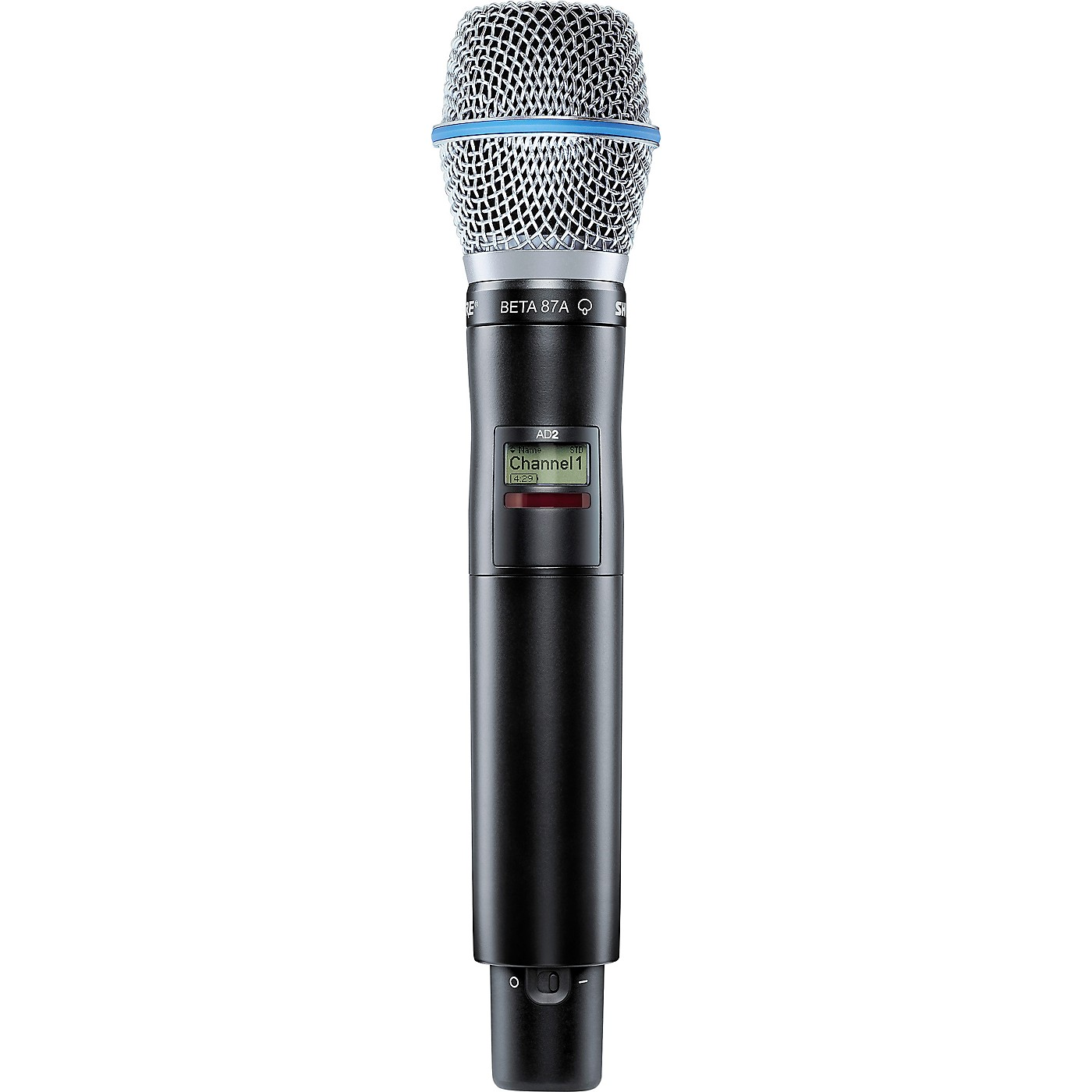 Shure Axient Digital AD2/B87A Handheld Wireless Microphone Transmitter thumbnail