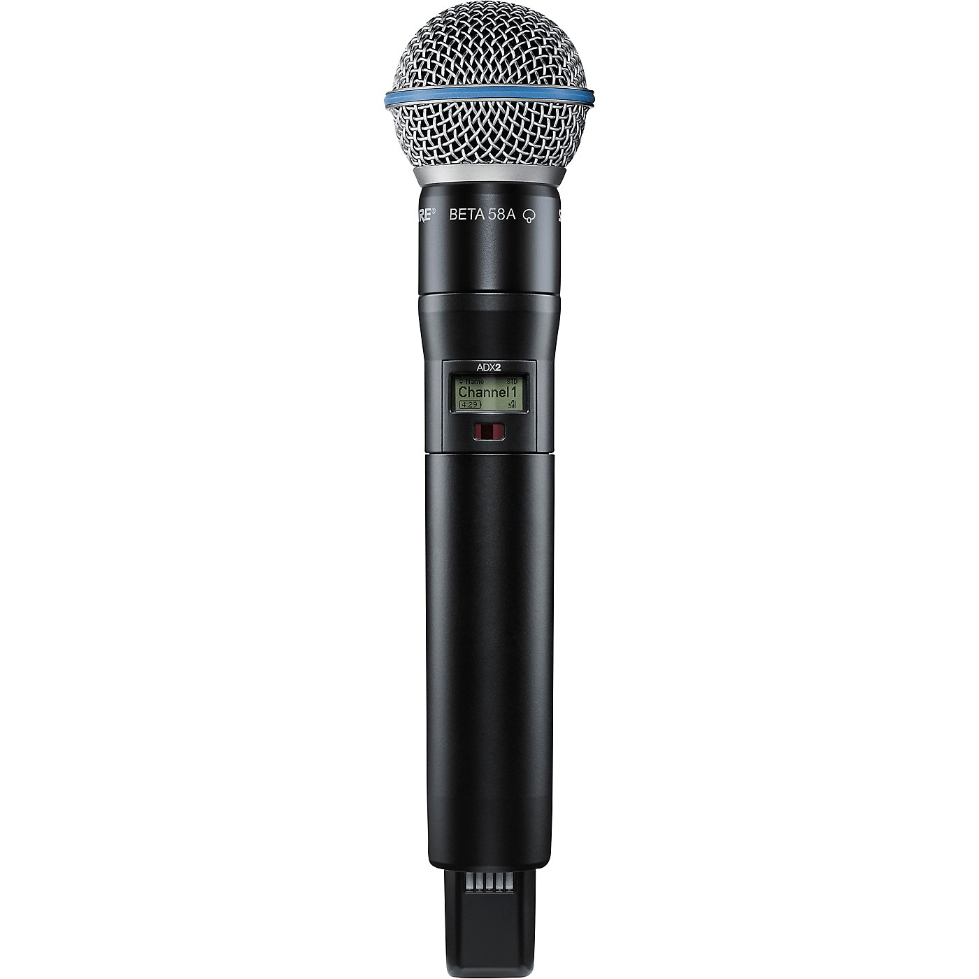 Shure Axient Digital ADX2/B58 Wireless Handheld Microphone Transmitter With BETA 58A Capsule thumbnail