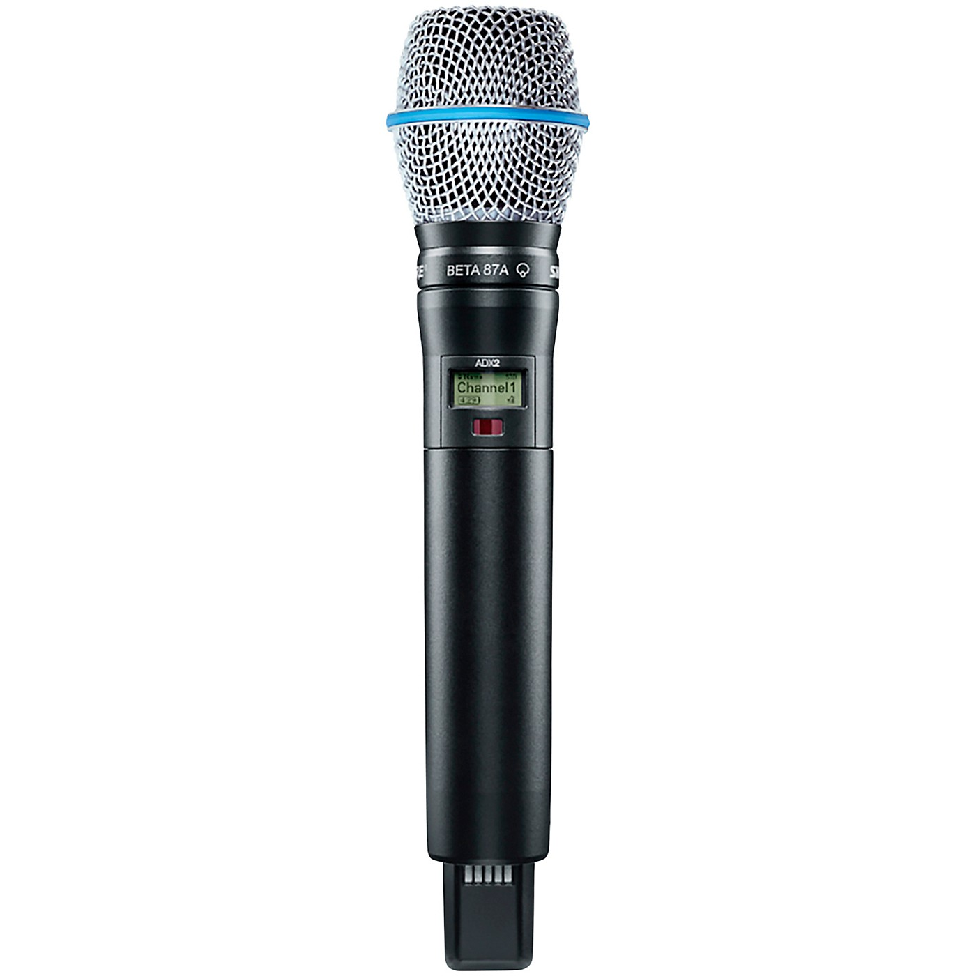 Shure Axient Digital ADX2/B87A Wireless Handheld Microphone Transmitter With BETA 87A Capsule thumbnail
