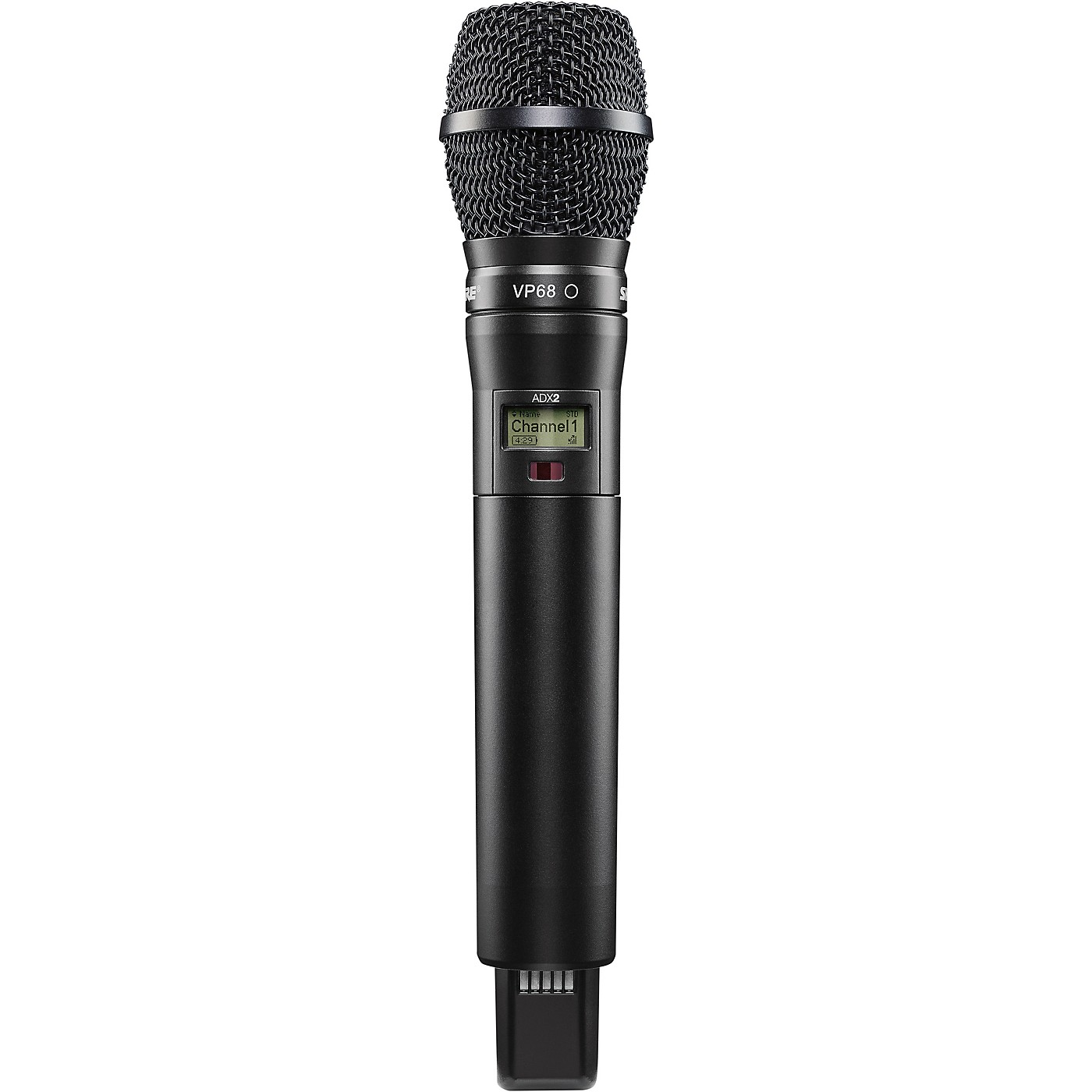 Shure Axient Digital ADX2/VP68 Wireless Handheld Microphone Transmitter With VP68 Capsule thumbnail