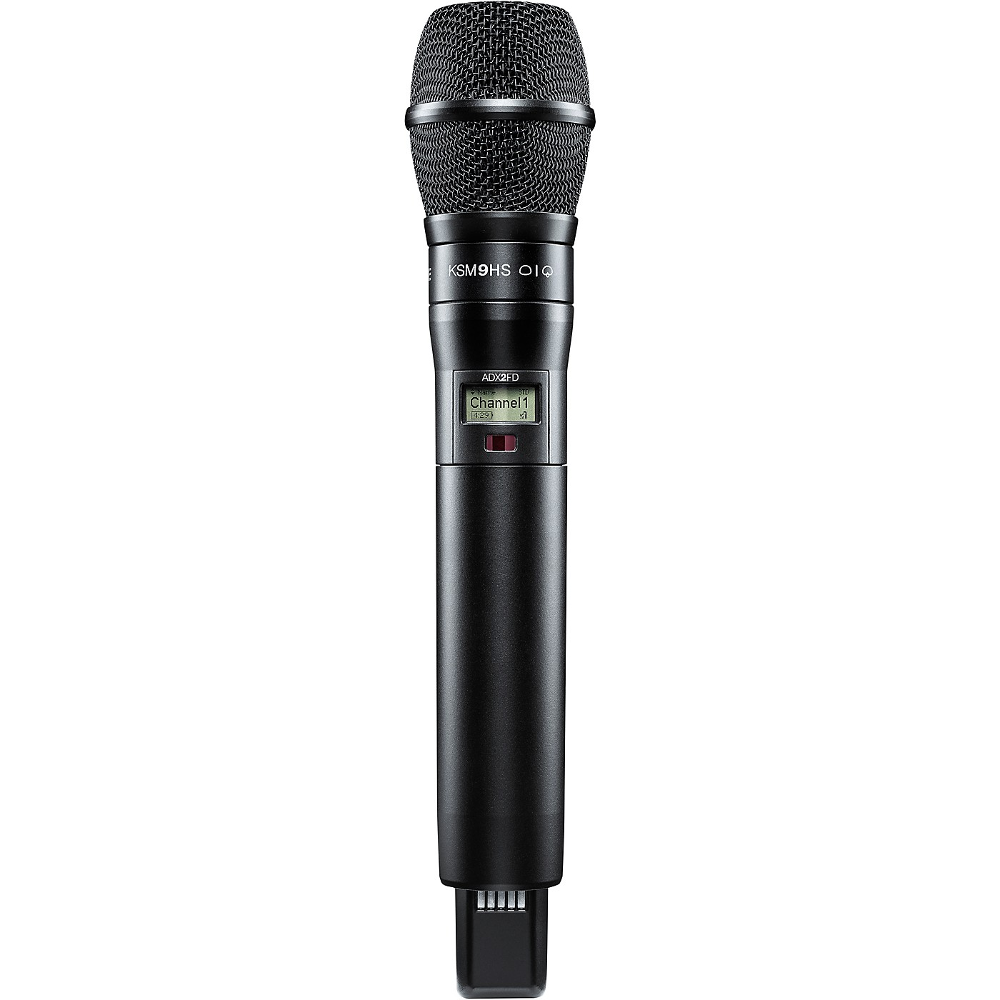 Shure Axient Digital ADX2FD/K9HSB Wireless Handheld Microphone Transmitter With KSM9HS Capsule in Black thumbnail