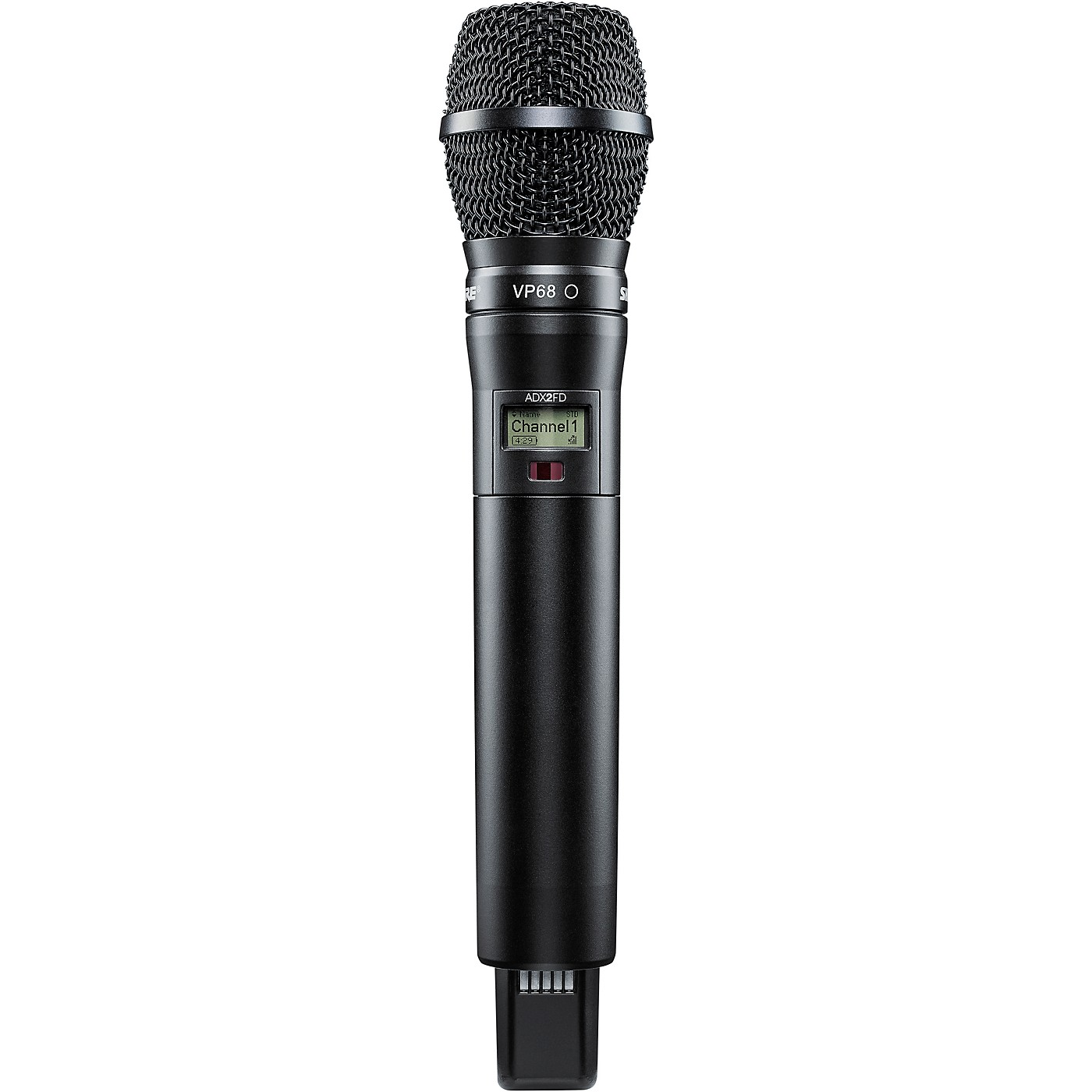 Shure Axient Digital ADX2FD/VP68 Wireless Handheld Microphone Transmitter With VP68 Capsule thumbnail