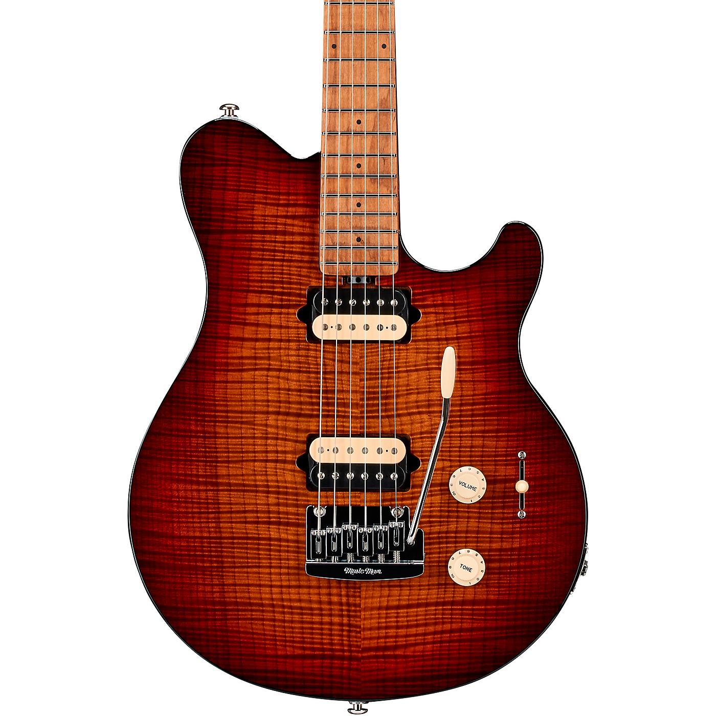 Ernie Ball Music Man Axis Super Sport Flame Top Electric Guitar thumbnail