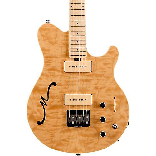 Ernie Ball Music Man Axis Super Sport MM90 Hollowbody Electric Guitar with Piezo thumbnail