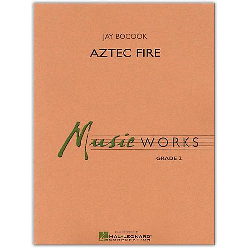Hal Leonard Aztec Fire MusicWorks Concert Band Grade 2 Book/Online Audio thumbnail