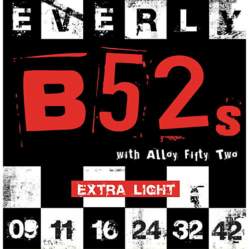 Everly B-52 Rockers Alloy Extra Light Electric Guitar Strings-thumbnail