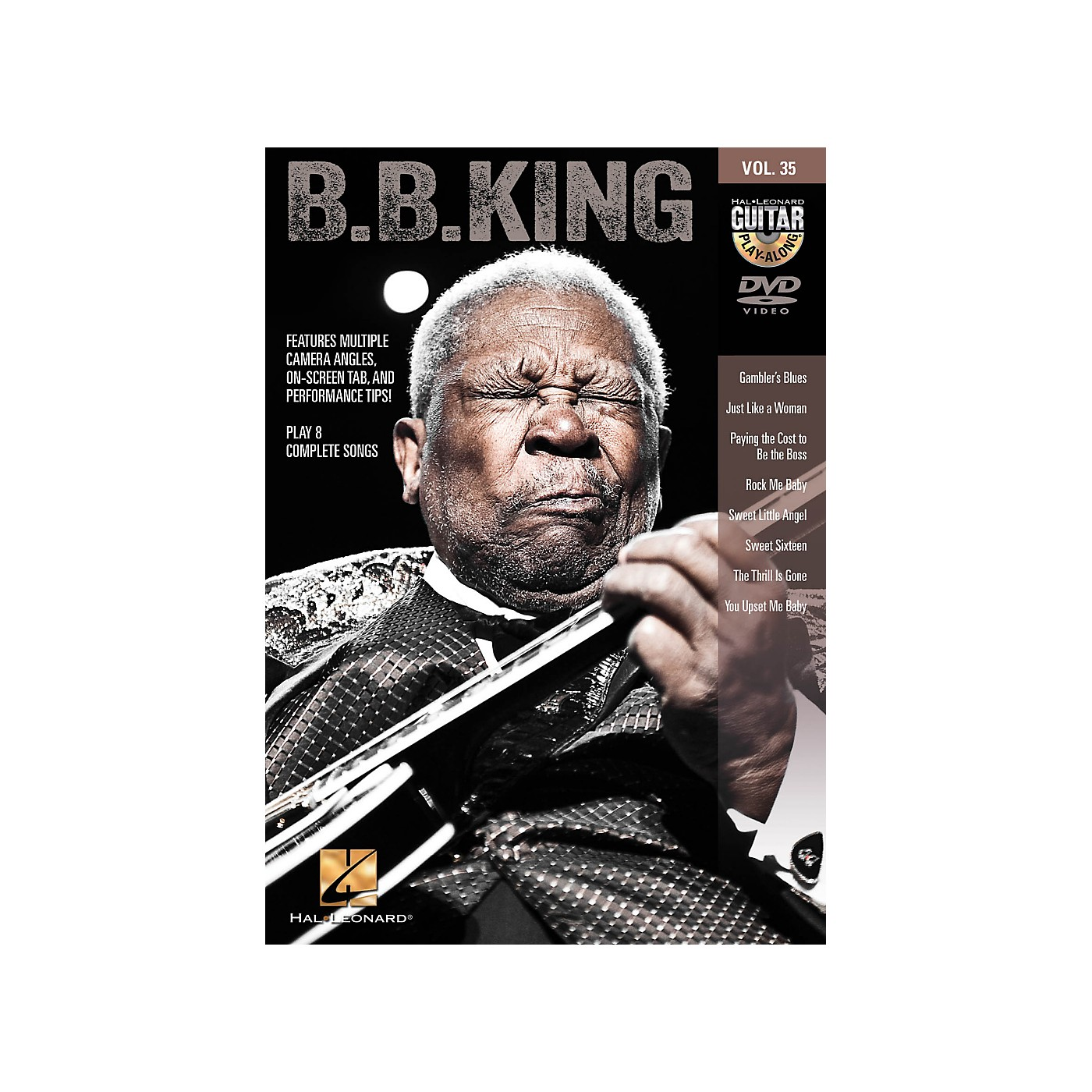 Hal Leonard B.B. King - Guitar Play-Along DVD Volume 35 thumbnail