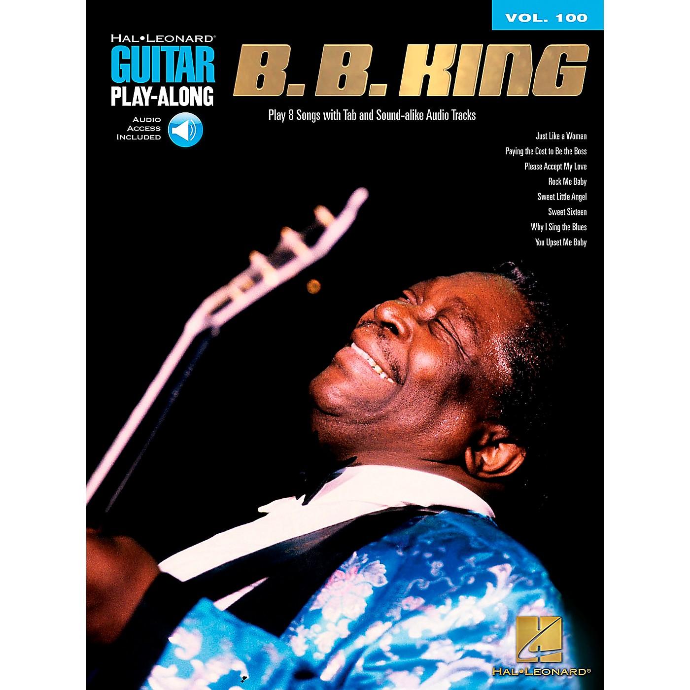 Hal Leonard B.B. King - Guitar Play-Along Volume 100 (Book/CD) thumbnail
