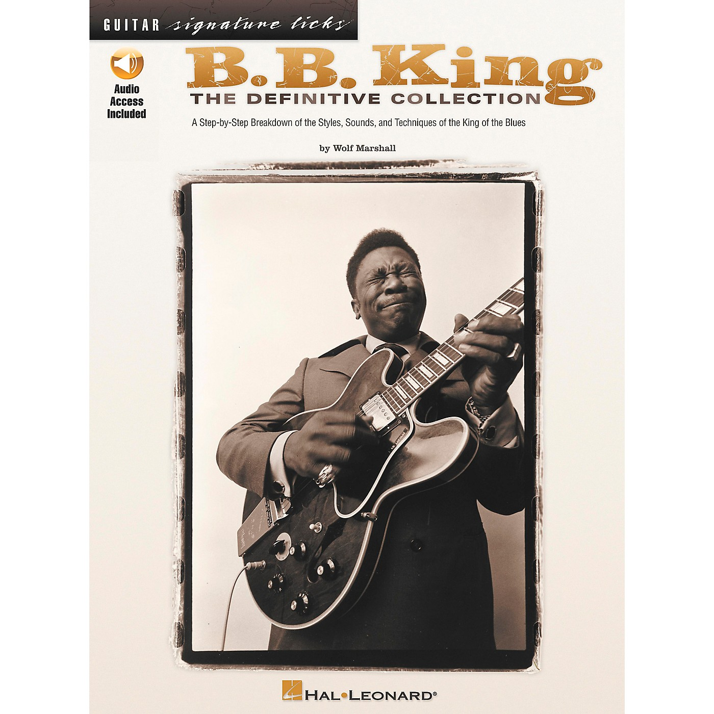 Hal Leonard B.B. King - The Definitive Collection Book with CD thumbnail
