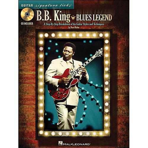 Hal Leonard B.B. King Blues Legend - Guitar Signature Licks Book/CD thumbnail