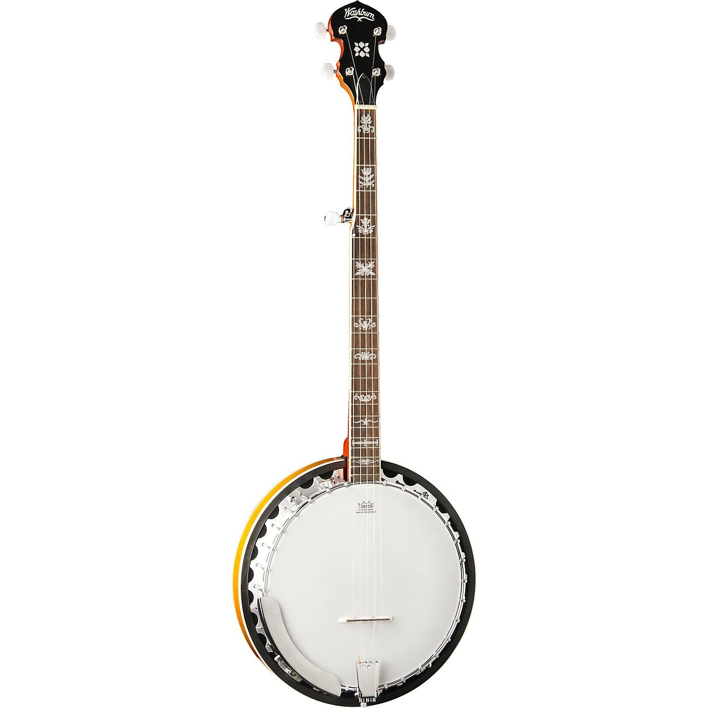 Washburn B10-A Americana 5-String Resonator Banjo thumbnail