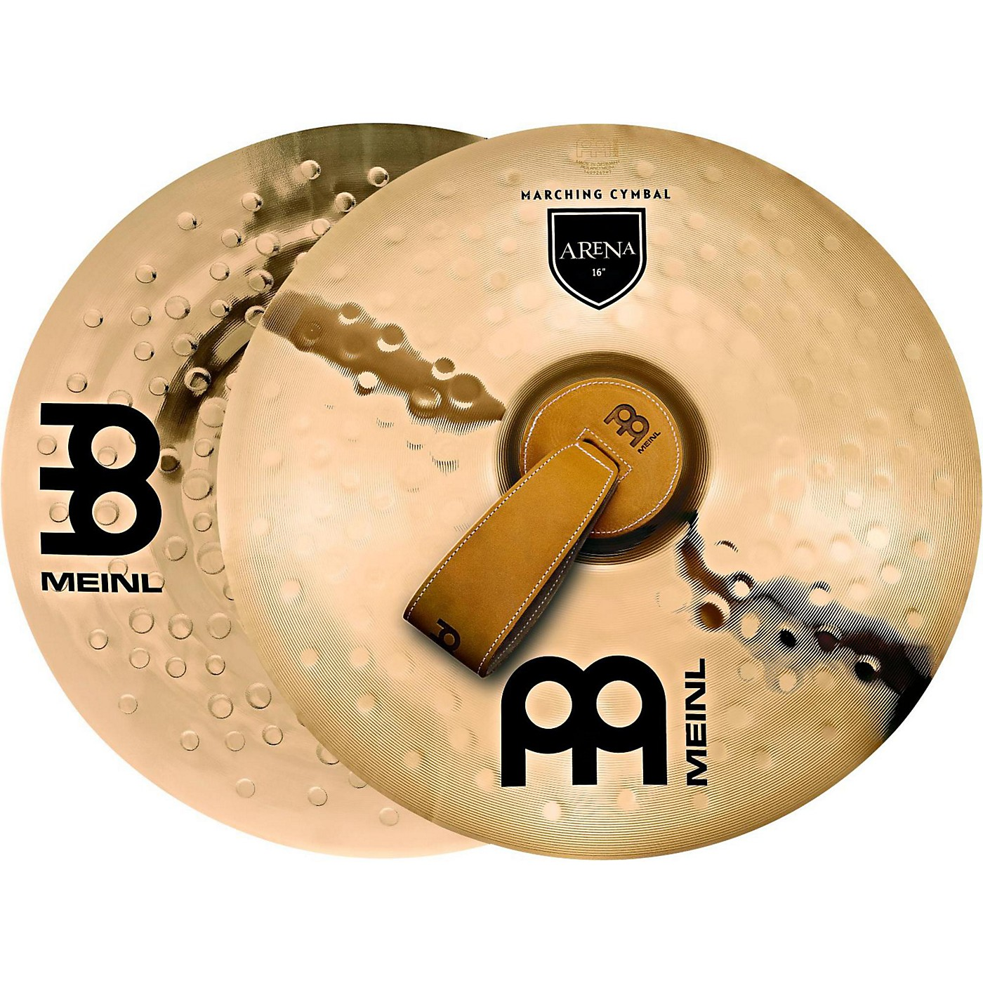 Meinl B10 Marching Arena Hand Cymbal Pair thumbnail