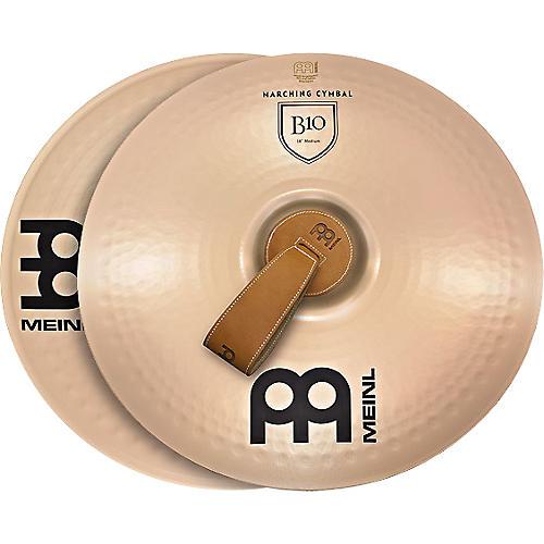 Meinl B10 Marching Medium Cymbal Pair thumbnail