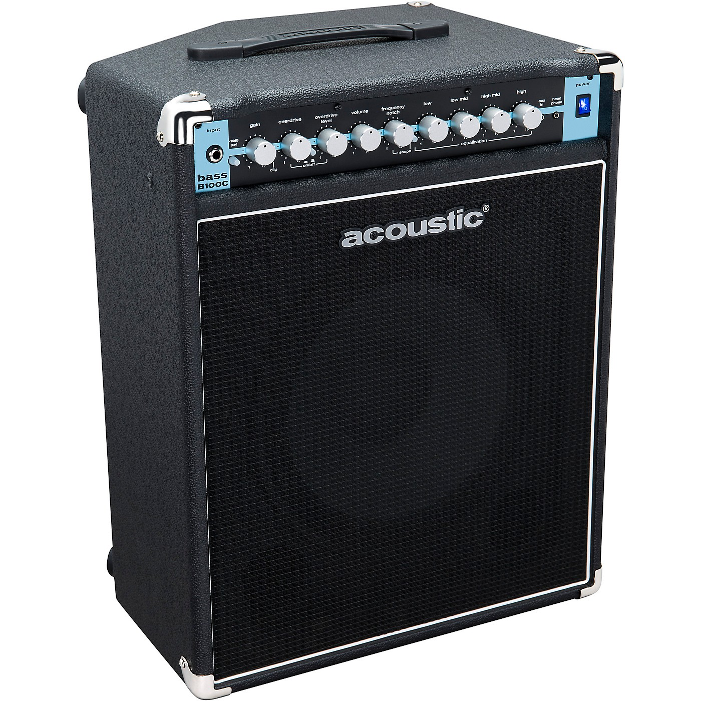 Acoustic B100C 1X12 100W Bass Combo with Tilt-Back Cab thumbnail