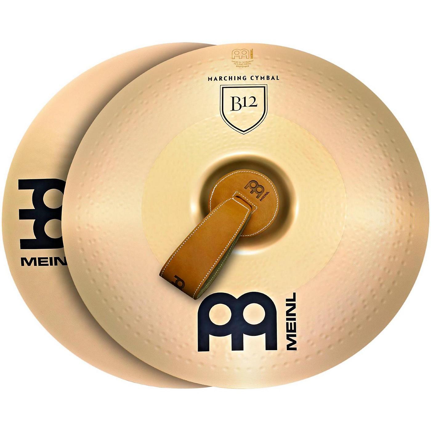 Meinl B12 Marching Medium Cymbal Pair thumbnail