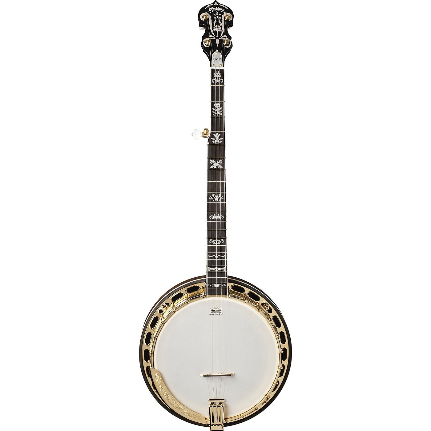 Washburn B17K-D Americana Series 5-String Resonator Banjo thumbnail