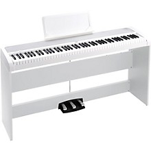 Korg B1SP 88 Keys Digital Piano with Stand and 3-Pedal Unit