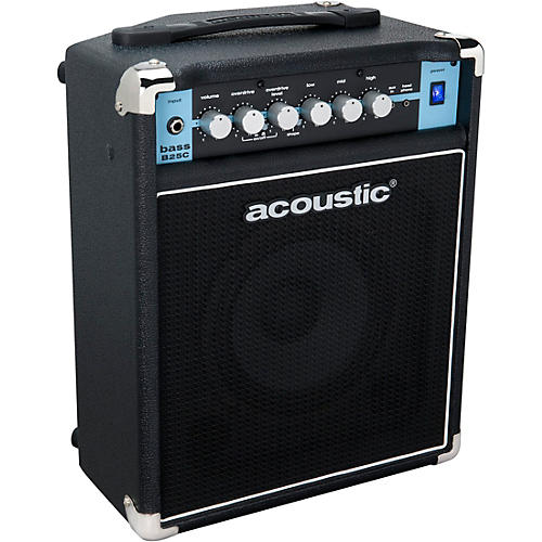 Acoustic B25C 1X8 25W Bass Combo with Tilt-Back Cab thumbnail