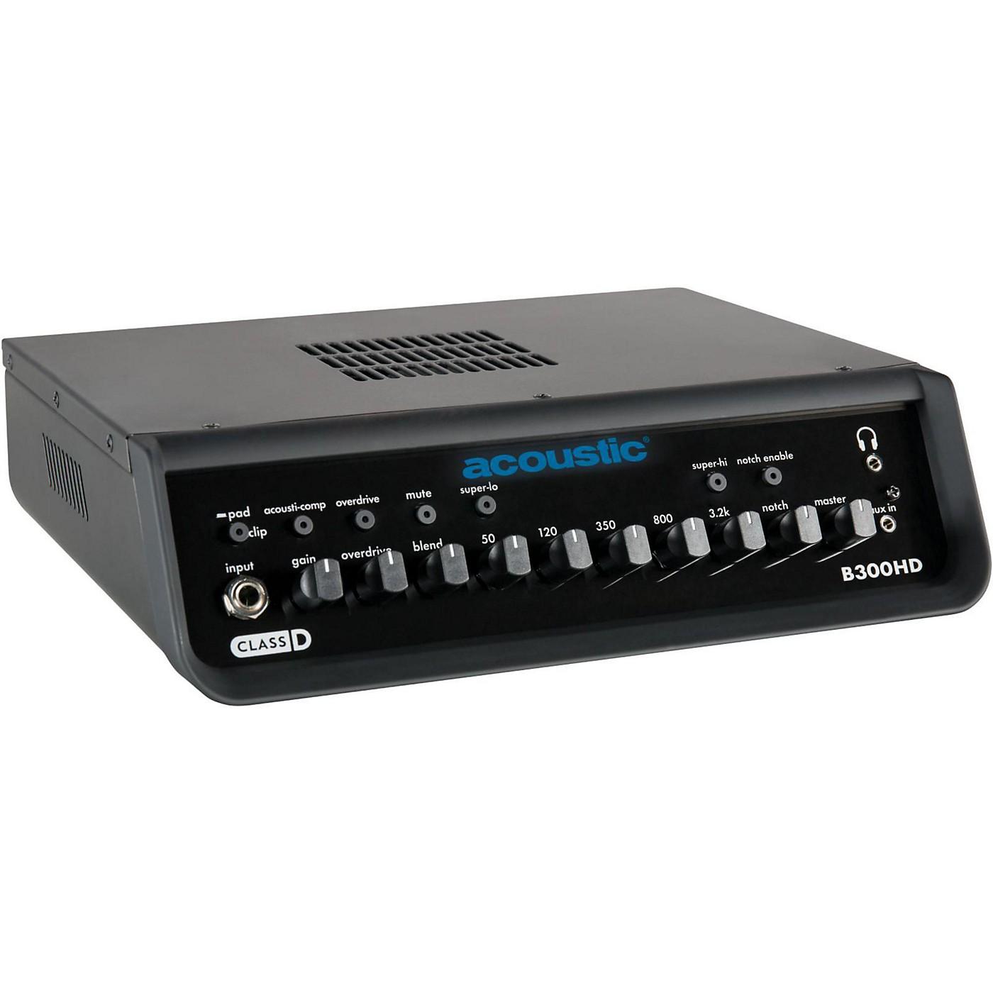 Acoustic B300HD 300W Bass Amp Head thumbnail