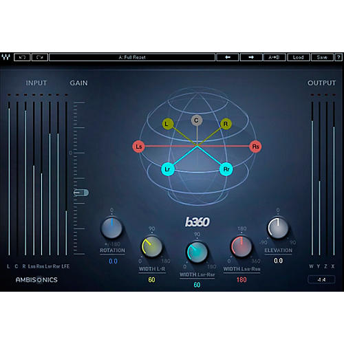 Waves B360 Ambisonics Encoder thumbnail