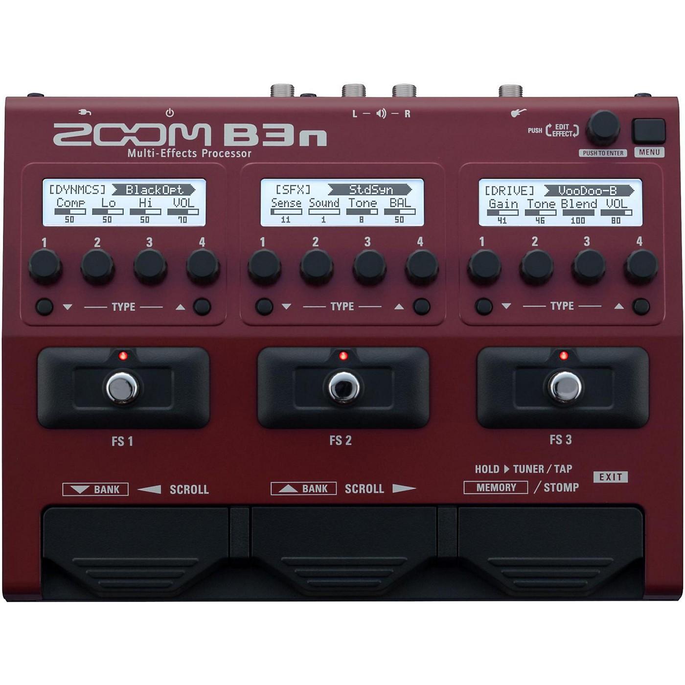 Zoom B3n Multi-Effects Bass Guitar Processor thumbnail
