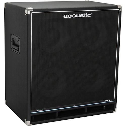 Acoustic B410C Classic 400W 4X10 Bass Speaker Cabinet thumbnail
