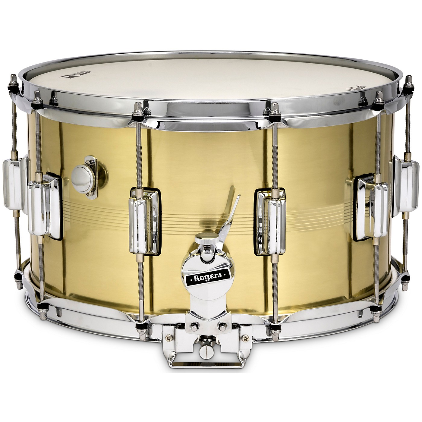 Rogers B7 Natural Brass Dyna-Sonic Snare Drum thumbnail