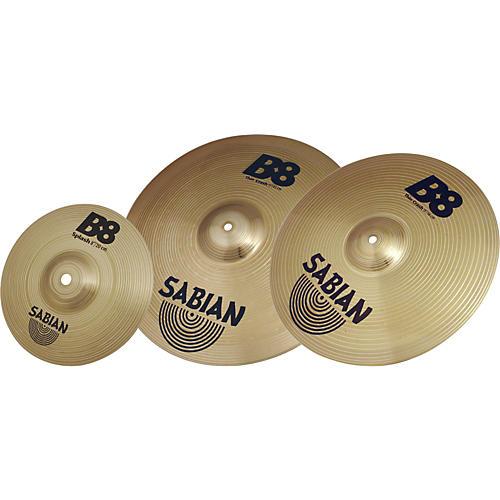 Sabian B8 Crash Cymbal Pack thumbnail