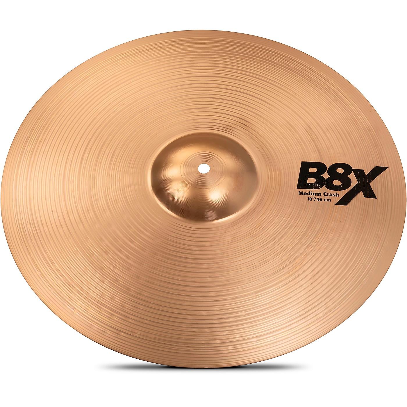 Sabian B8X Medium Crash Cymbal thumbnail