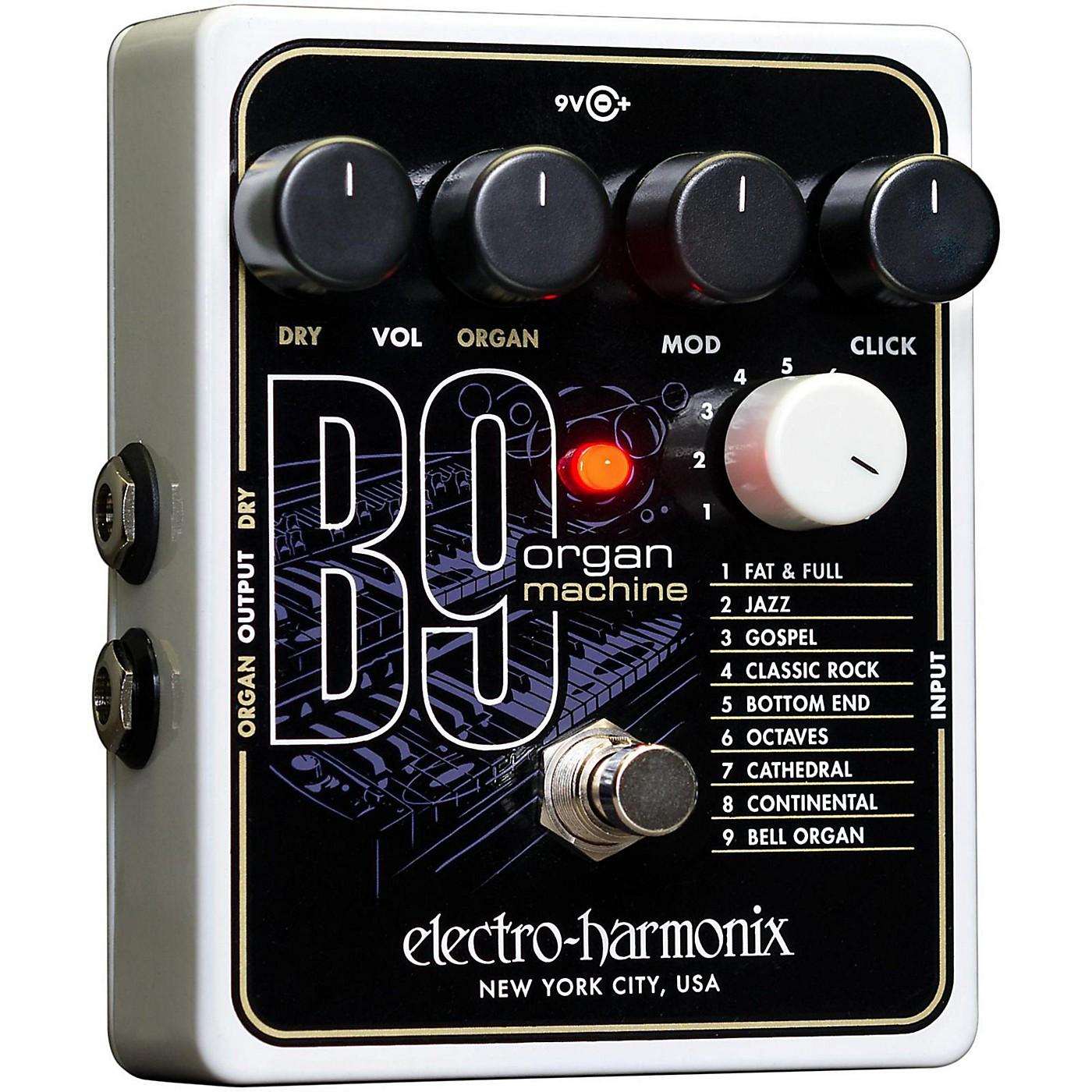 Electro-Harmonix B9 Organ Machine Guitar Effects Pedal thumbnail