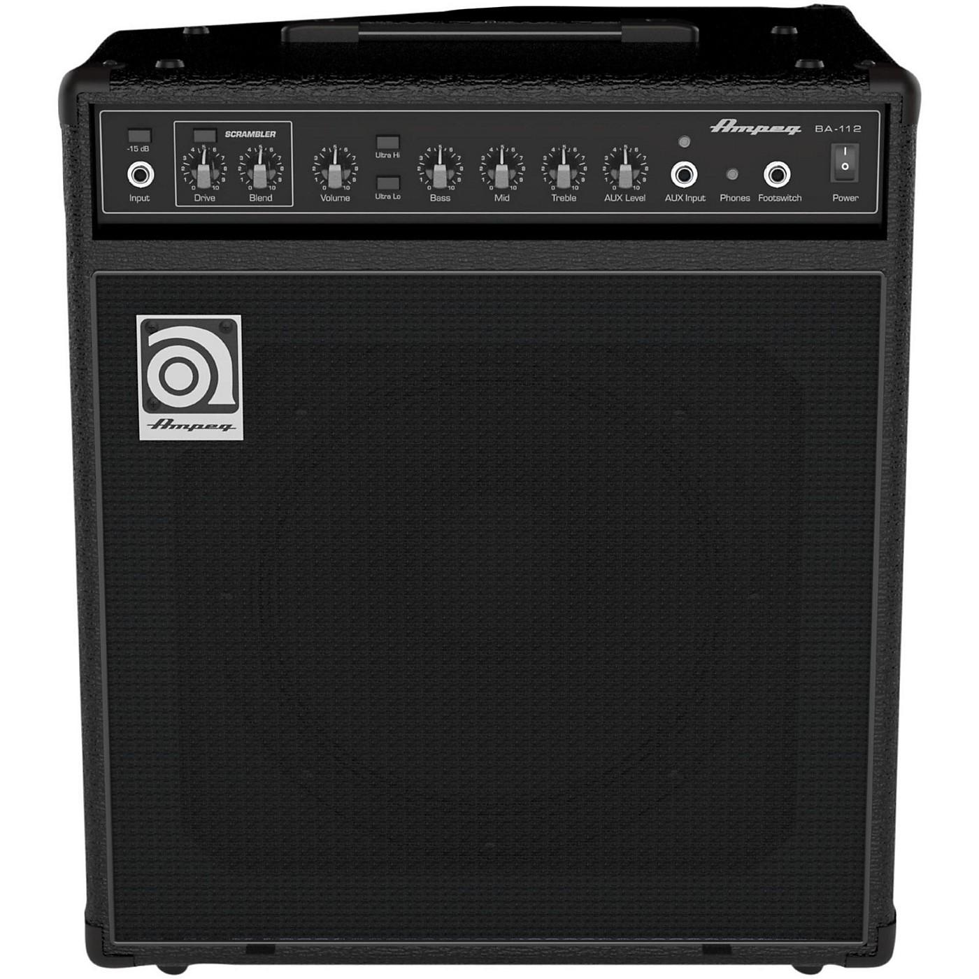 Ampeg BA112V2 1x12 Bass Combo Amplifier thumbnail