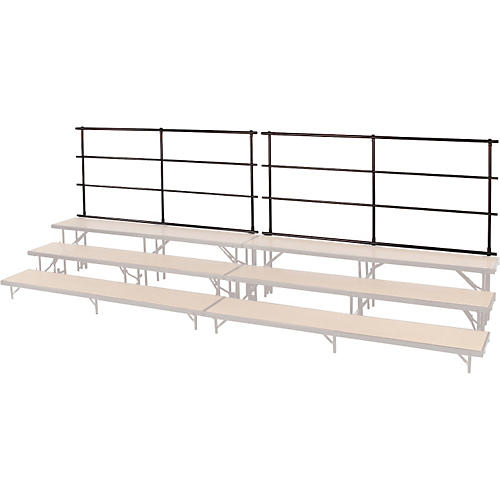 Midwest Folding Products BACKRAILS FOR STANDING CHORAL RISERS thumbnail