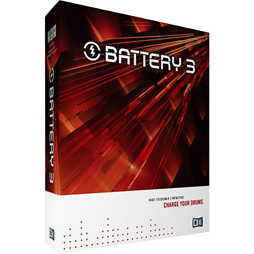 Native Instruments BATTERY 3 Drum Sampling Software-thumbnail