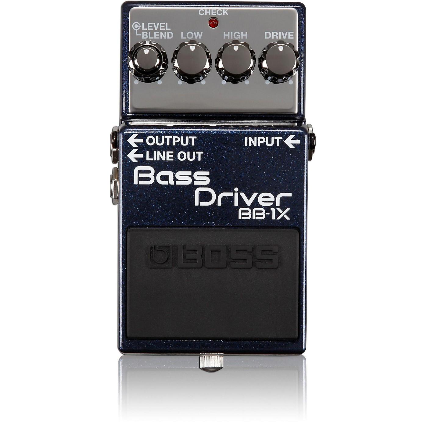 Boss BB-1X Bass Driver Effects Pedal thumbnail