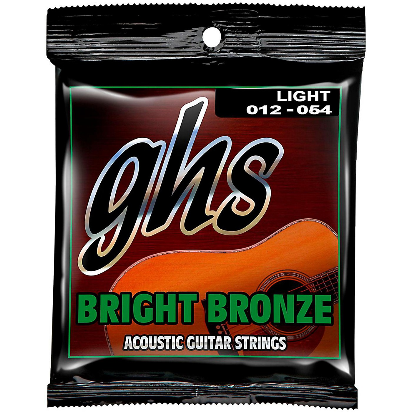 GHS BB30L 80/20 Bronze Light Acoustic Guitar Strings thumbnail