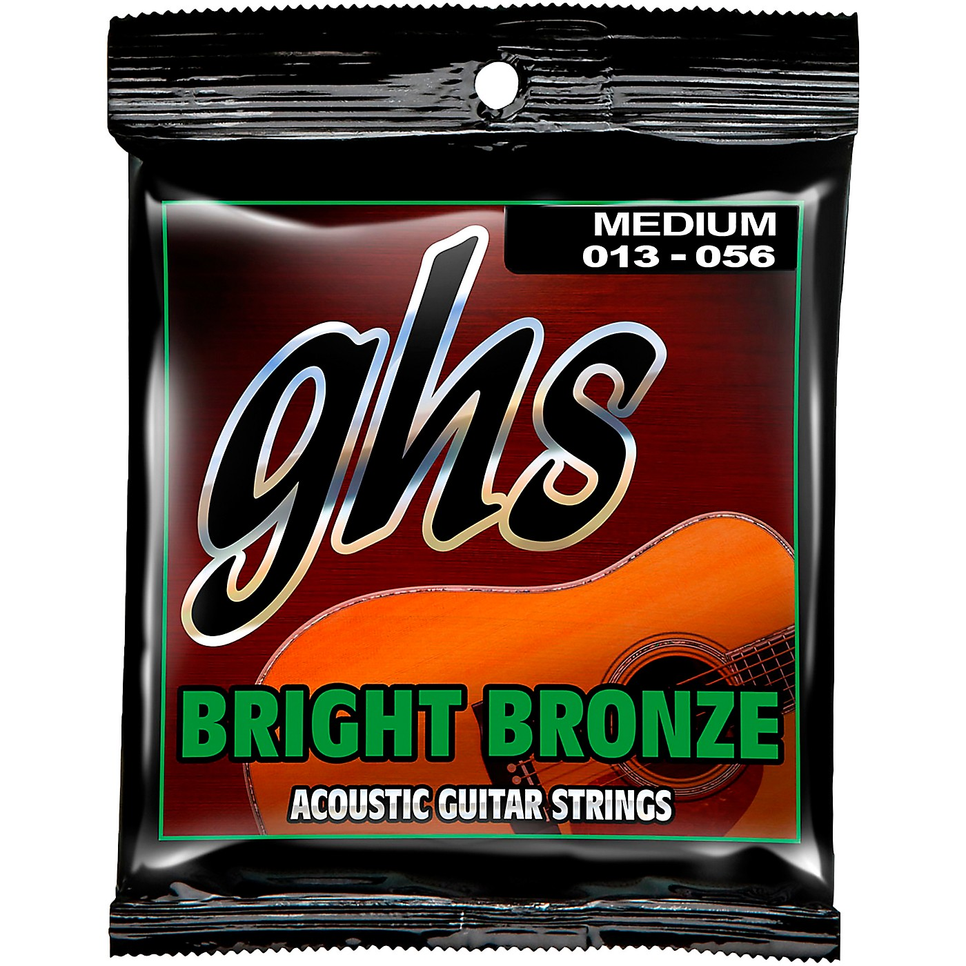 GHS BB40M 80/20 Bronze Medium Acoustic Guitar Strings thumbnail