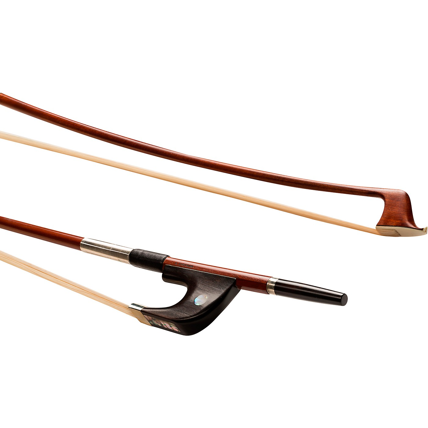 A. Eastman BB60G Series Pernambucco German Bass Bow thumbnail