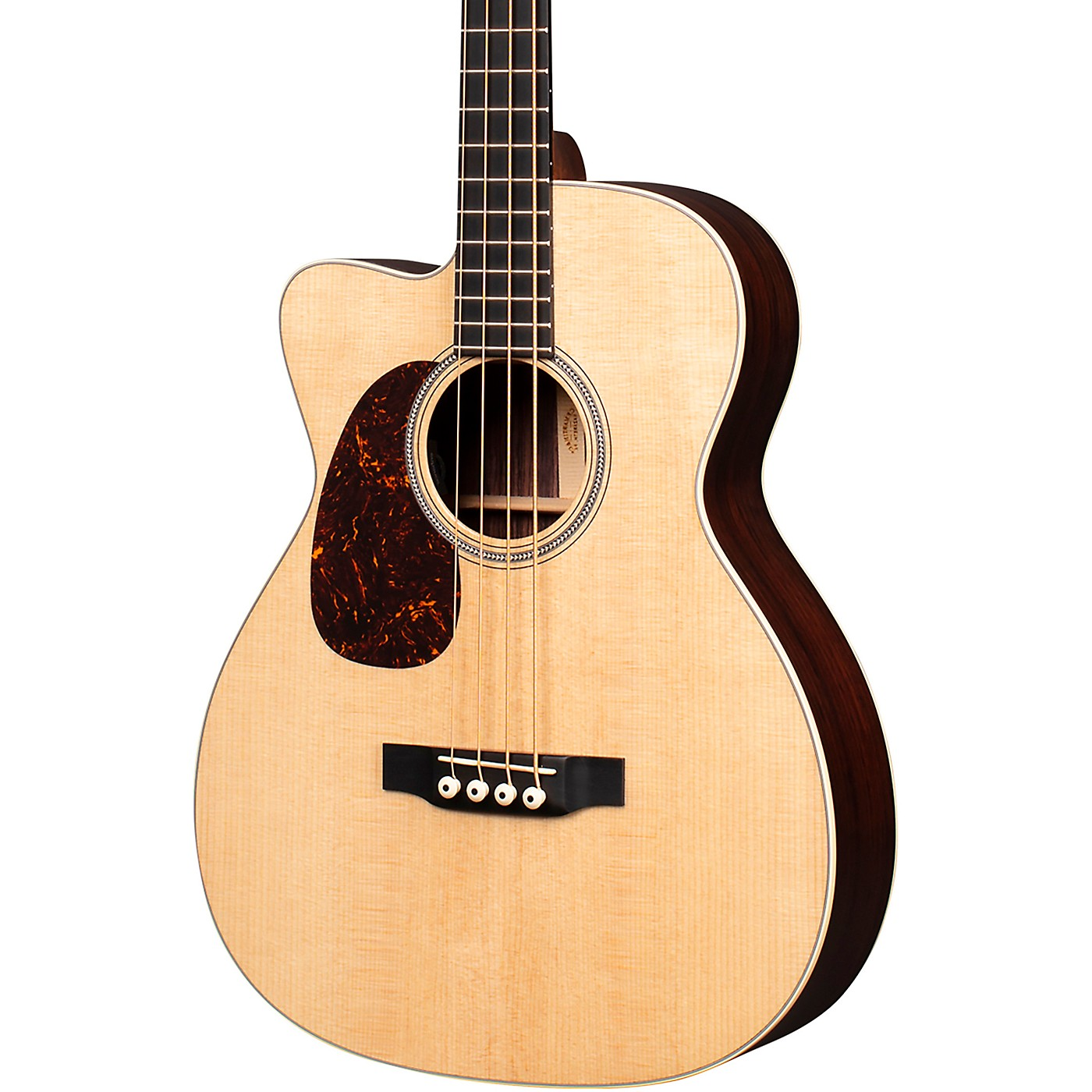 Martin BC-16E Left Handed Acoustic-Electric Bass Guitar thumbnail