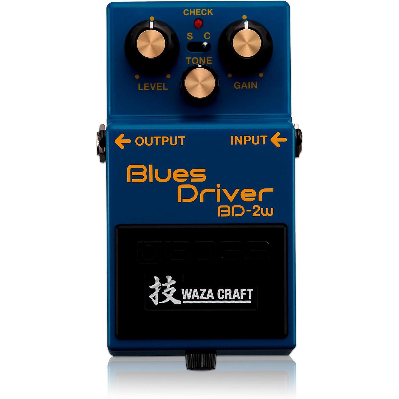 Boss BD-2W Blues Driver Waza Craft Guitar Effects Pedal thumbnail