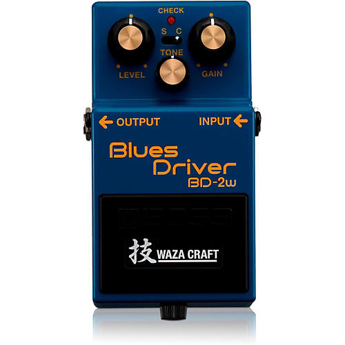 Boss BD-2W Blues Driver Waza Craft Guitar Effects Pedal thumbnail
