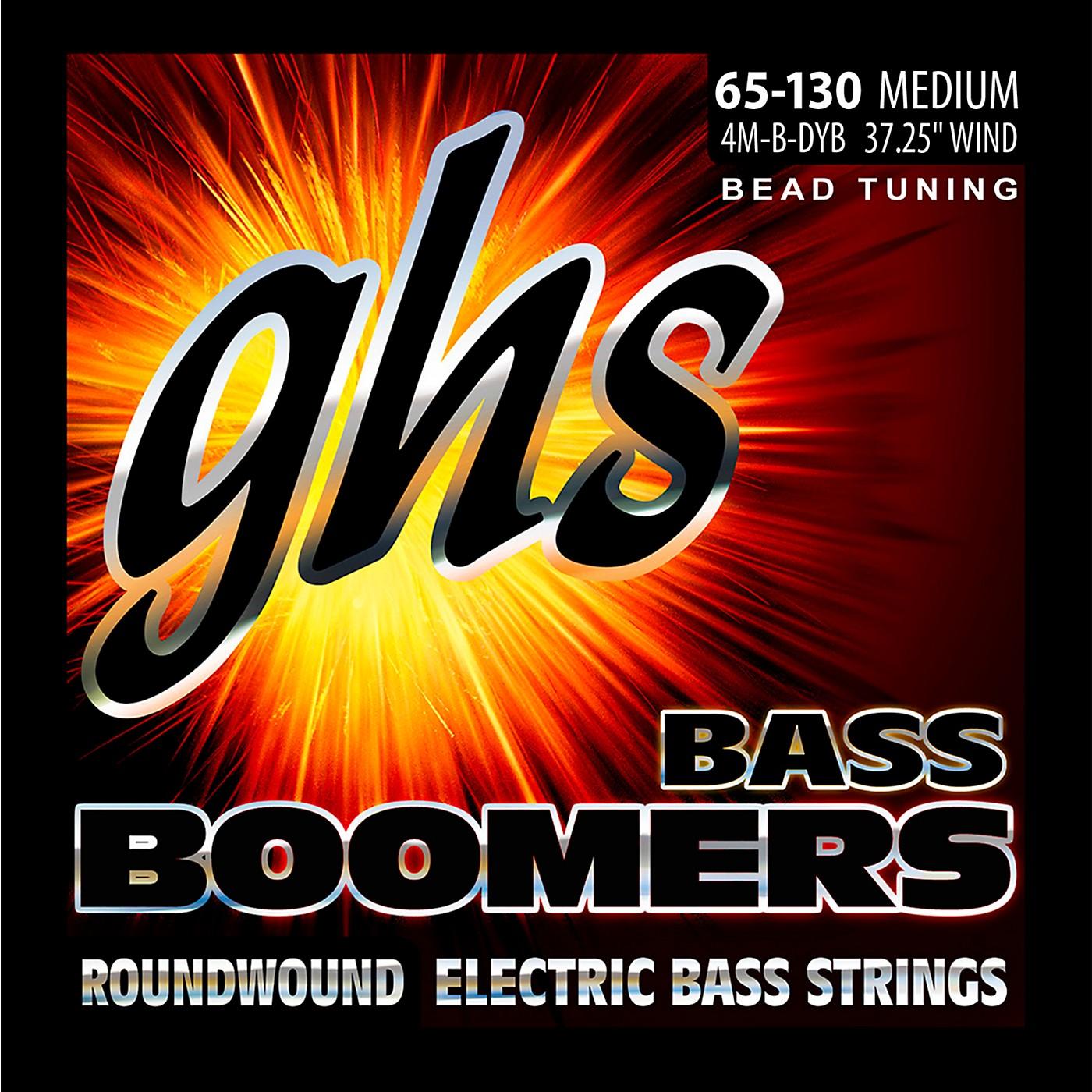 GHS BEAD Tuned Bass Boomers Medium (65-130) Strings thumbnail