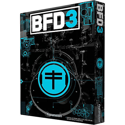 Fxpansion BFD3 Acoustic Drum Studio Virtual Instrument thumbnail