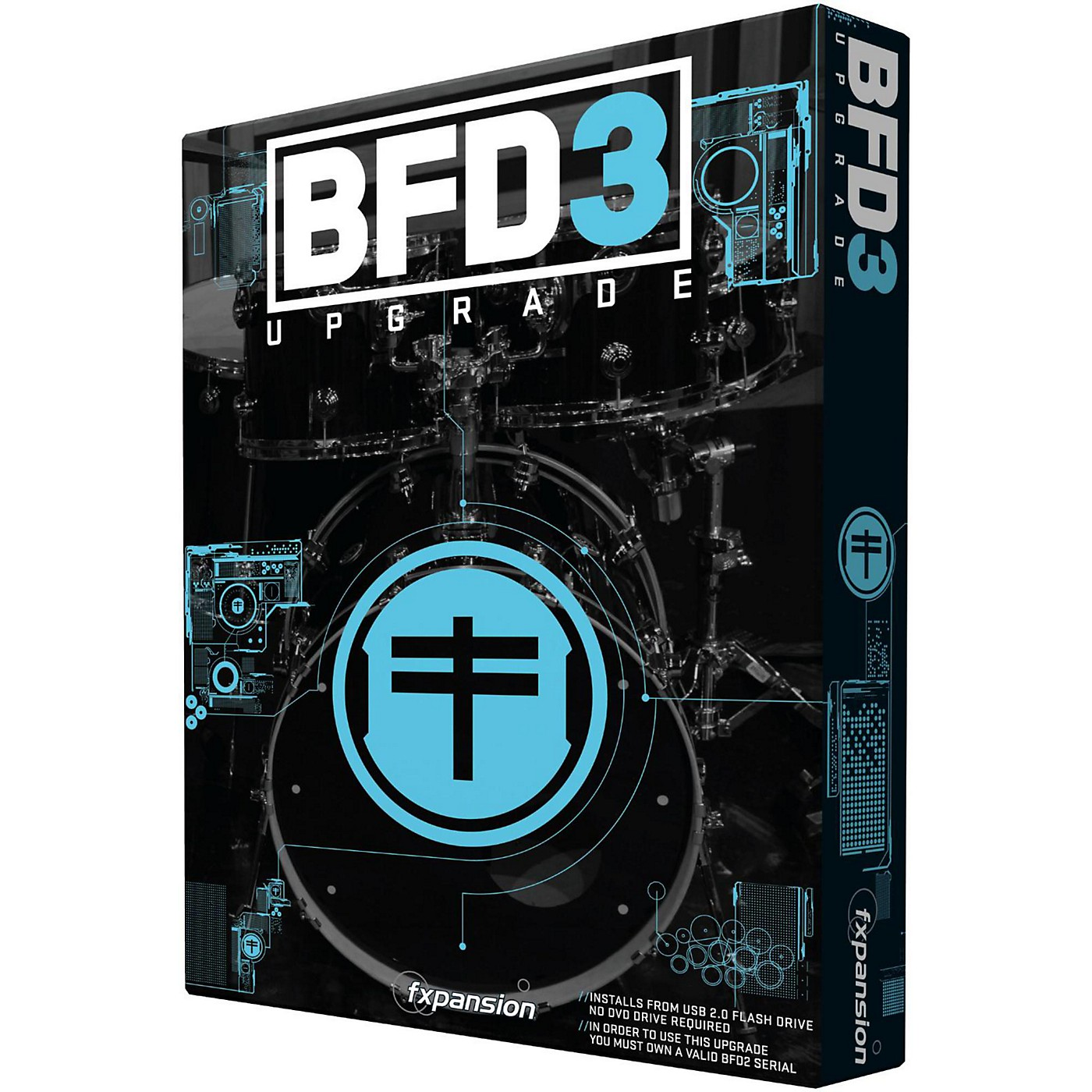Fxpansion BFD3 Upgrade from BFD ECO Digital Version thumbnail