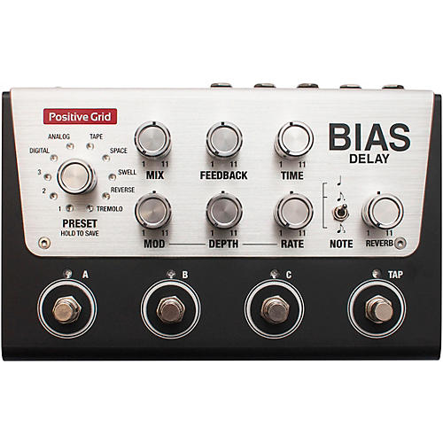 Positive Grid BIAS Delay Pro Effects Pedal thumbnail