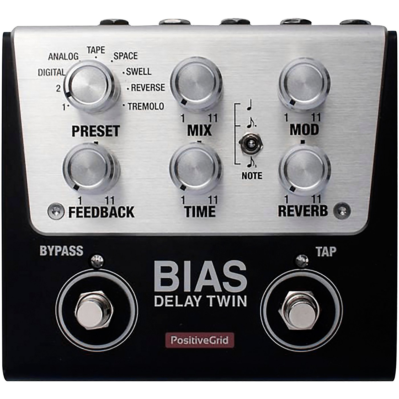 Positive Grid BIAS Delay Twin Effects Pedal thumbnail