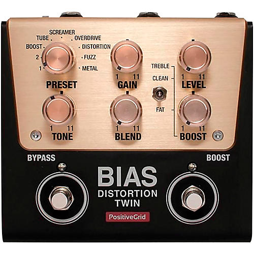 Positive Grid BIAS Distortion Twin Tone Match Distortion Effects Pedal thumbnail