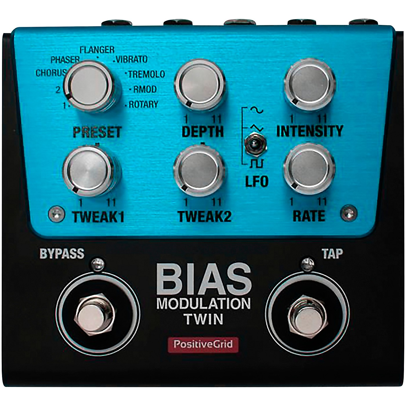 Positive Grid BIAS Modulation Twin Effects Pedal thumbnail