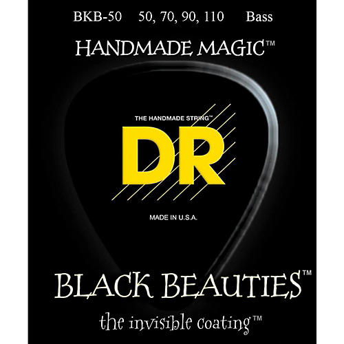 DR Strings BKB-50 Black Beauty Heavy Bass Strings thumbnail