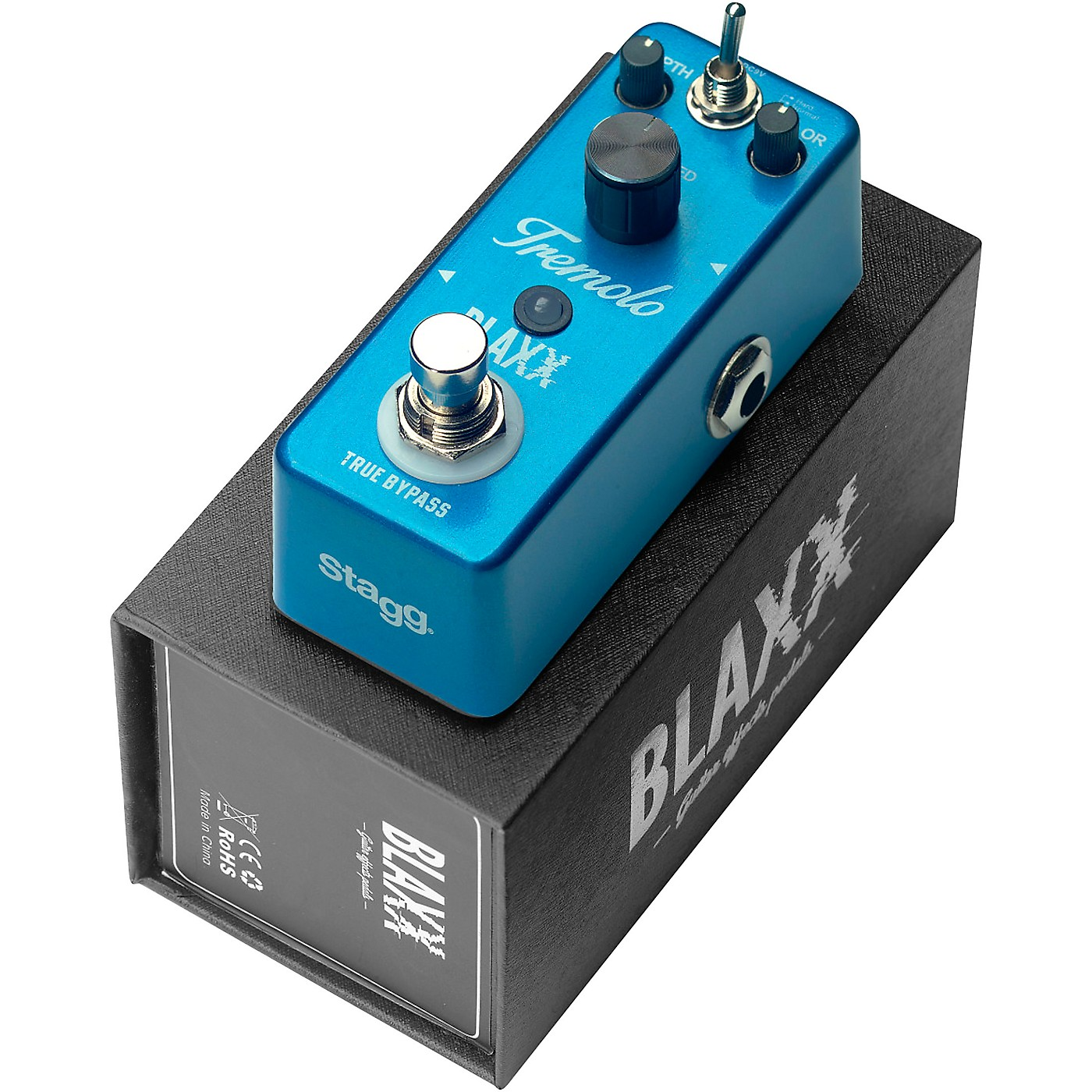 Stagg BLAXX Two Mode Tremolo Effects Pedal thumbnail