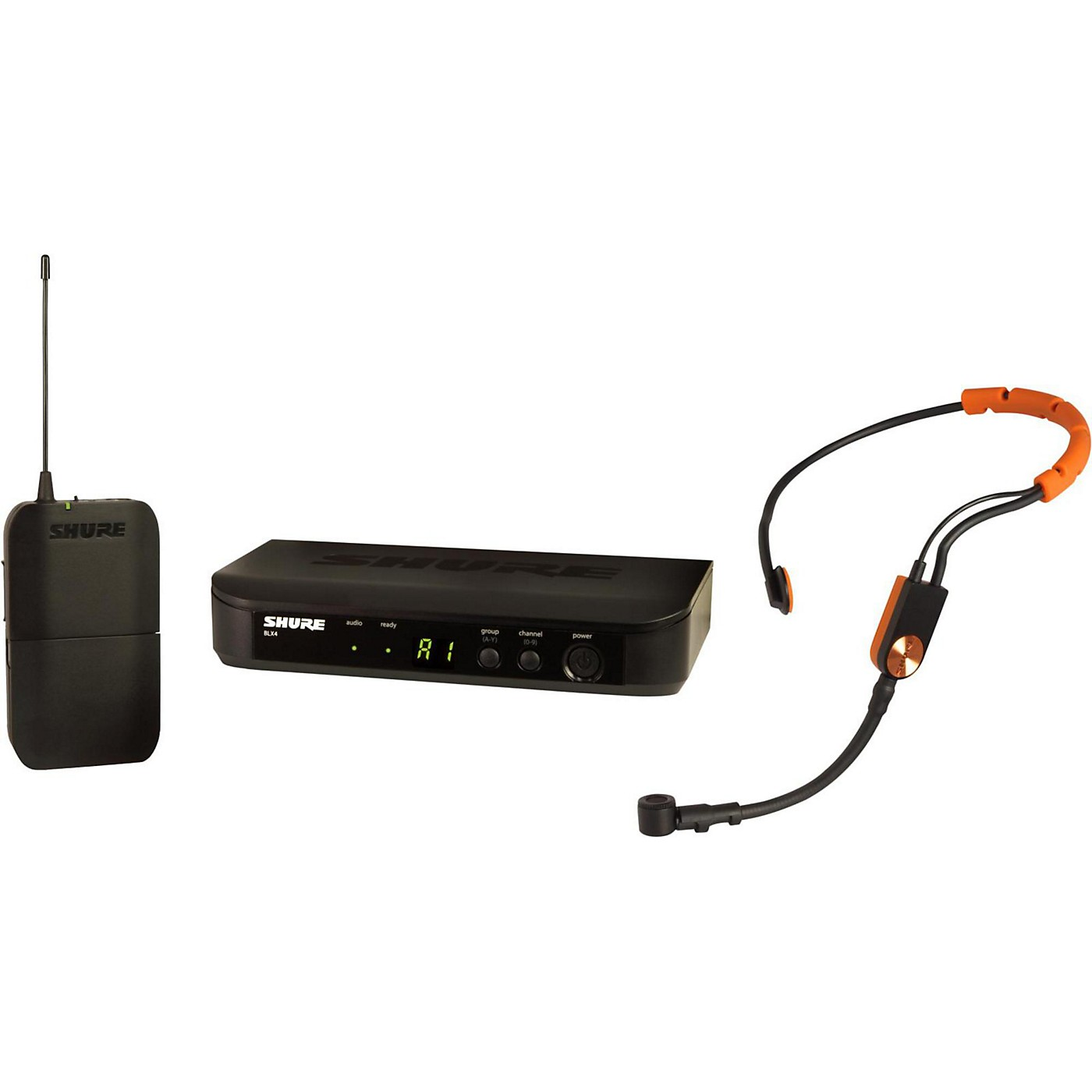 Shure BLX14 Headset System with SM31 Headset Microphone thumbnail